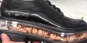 Diseñadores de zapatos que están muy mal