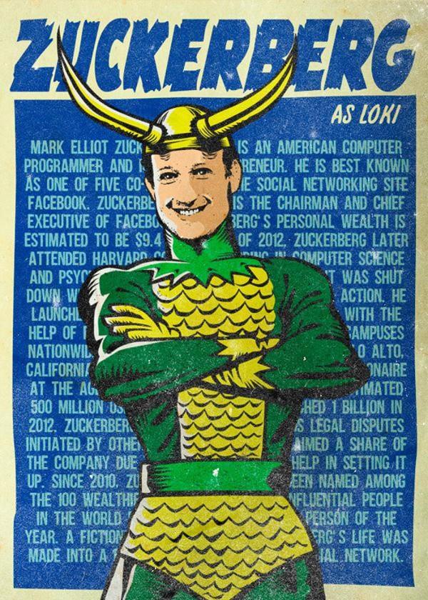 Zuckerberg como Loki