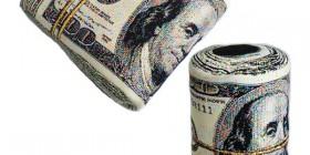Almohadas originales: Fajo de billetes