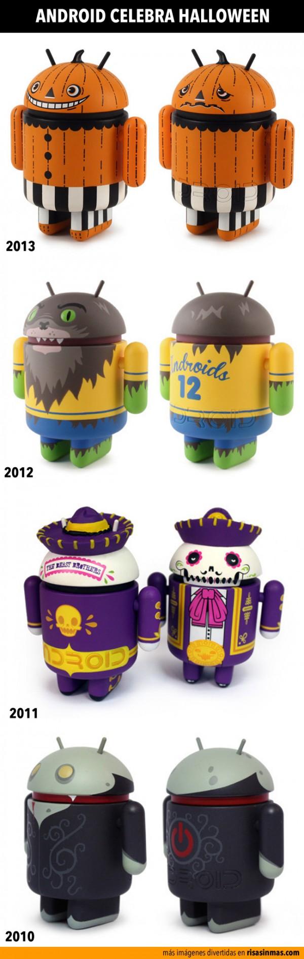 Android celebra Halloween