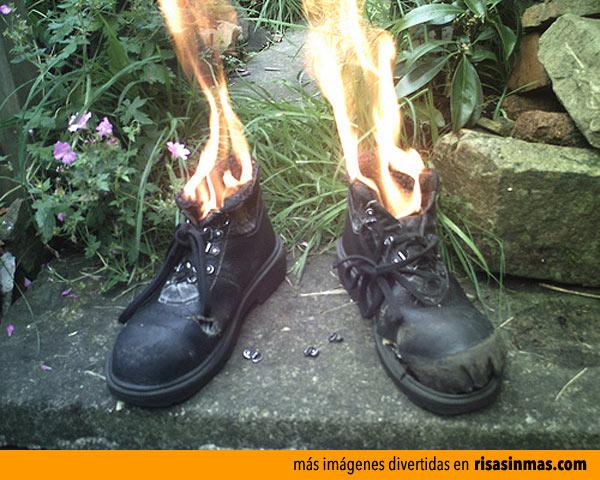 Así me siento cuando estreno zapatos