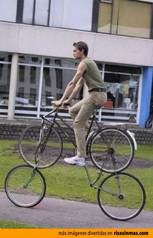 Bi-bicicleta