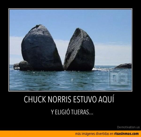 Chuck Norris estuvo aquí
