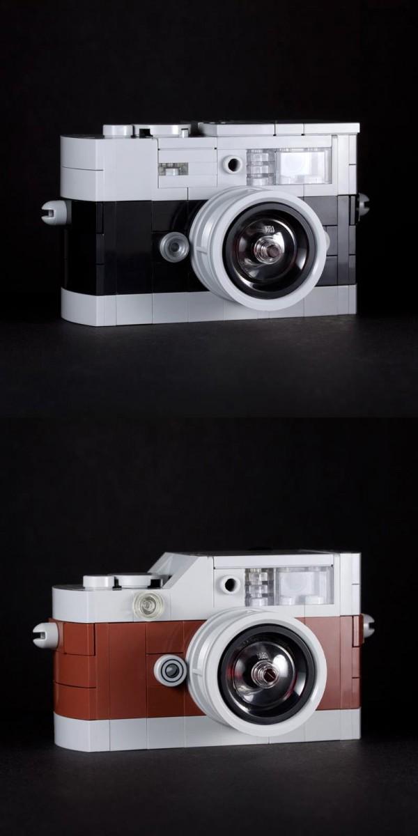 Cámaras Fotográficas hechas con LEGO