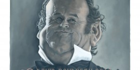 Caricatura de Colm Meaney