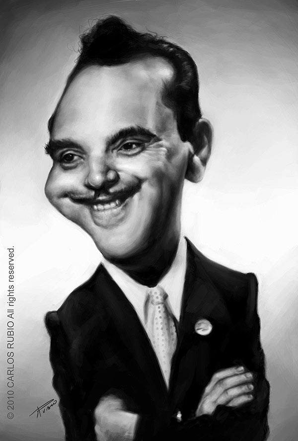 Caricatura de Django Reinhardt
