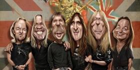 Caricatura de Iron Maiden