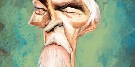 Caricatura de James Coburn