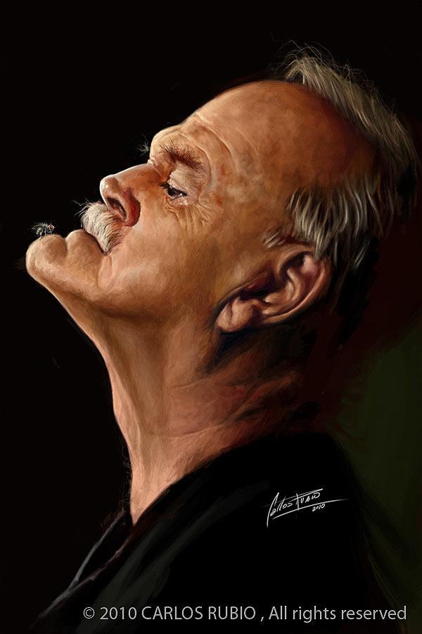Caricatura de John Cleese