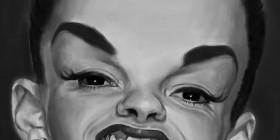 Caricatura de Judy Garland