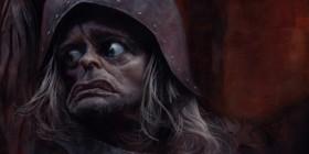 Caricatura de Klaus Kinski como Aguirre