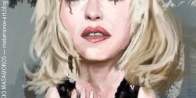 Caricatura de Madonna