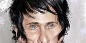 Caricatura de Matt Bellamy