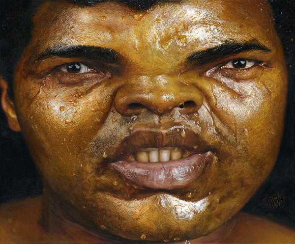 Caricatura de Muhammad Ali