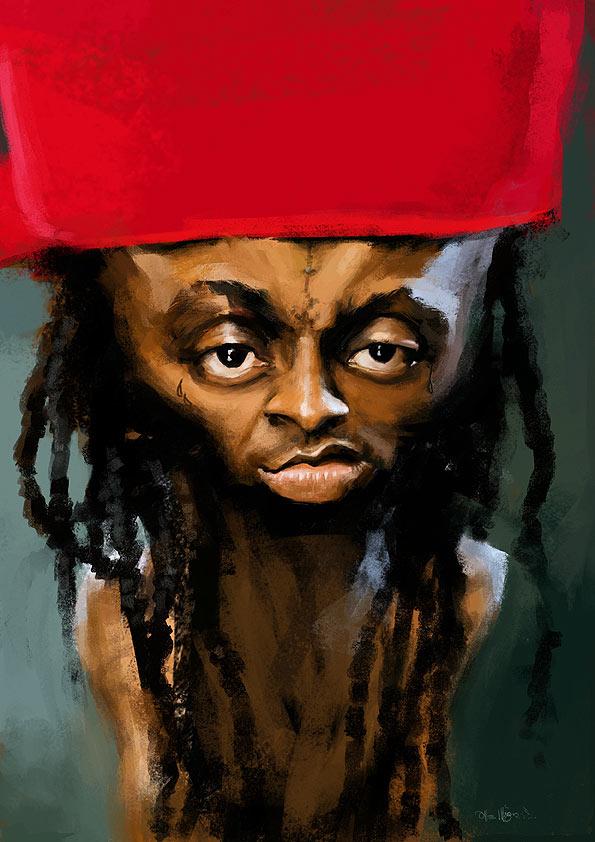 Caricaturas de Lil Wayne