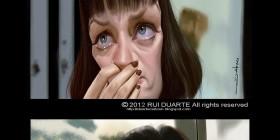 Caricaturas de Pulp Fiction