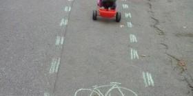 Carril bici de los más pequeños