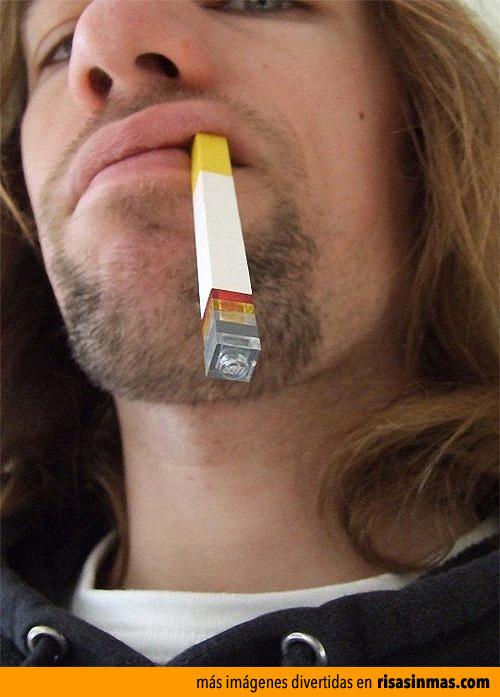 Cigarrillo de LEGO