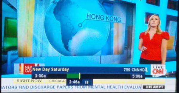 Clase de geografía con la CNN
