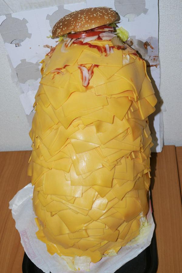 Cómo hacer una hamburguesa baja en calorías
