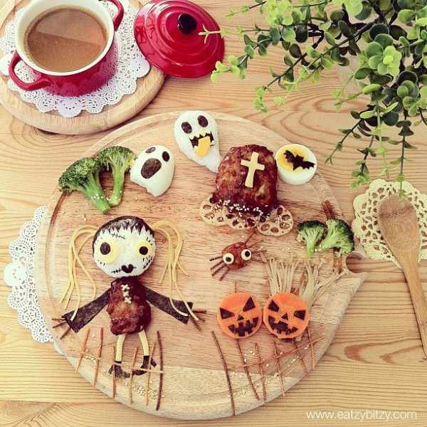 Comida divertida para Halloween
