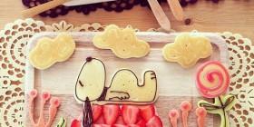 Comidas divertidas: Snoopy