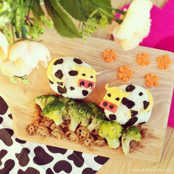 Comidas divertidas: Vacas