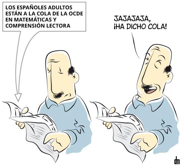 Comprensión lectora en España