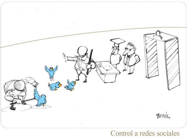 Control a redes sociales