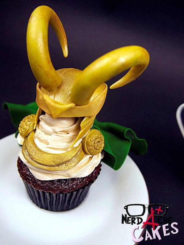 Cupcake de Loki