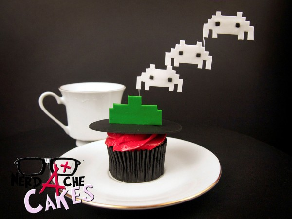 Cupcake Space Invaders