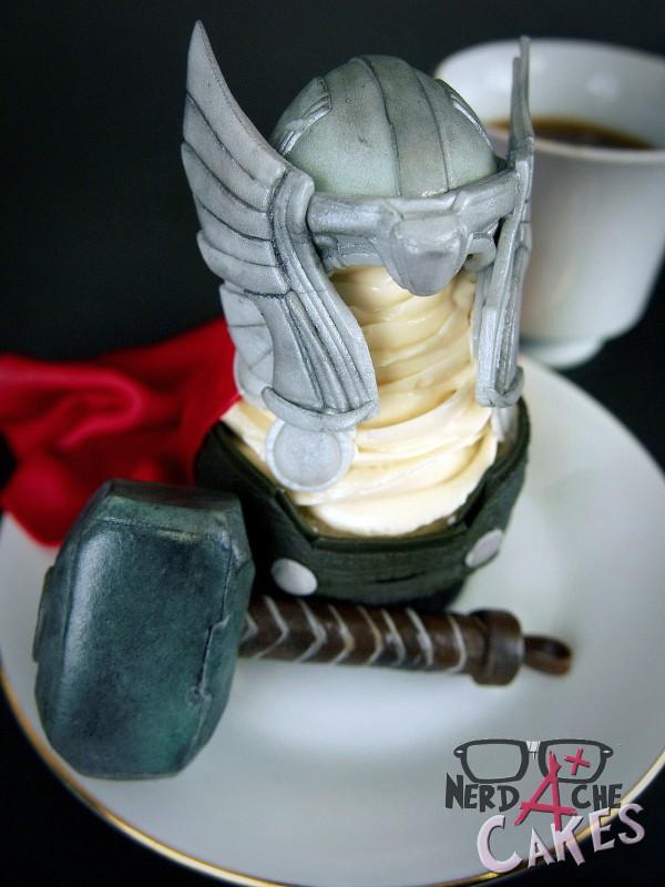 Cupcake de Thor