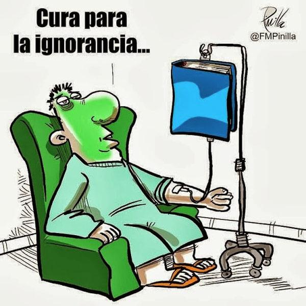 Cura para la ignorancia