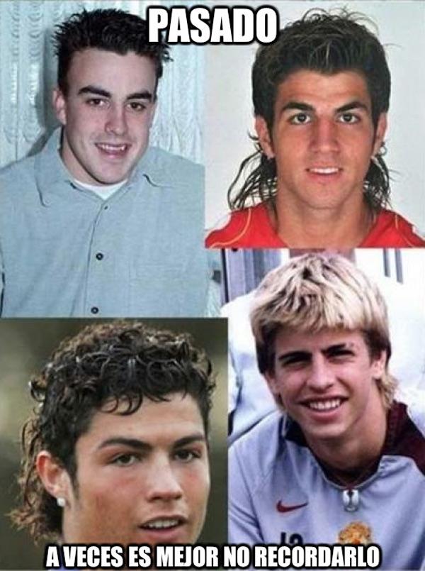 Deportistas famosos de pequeños