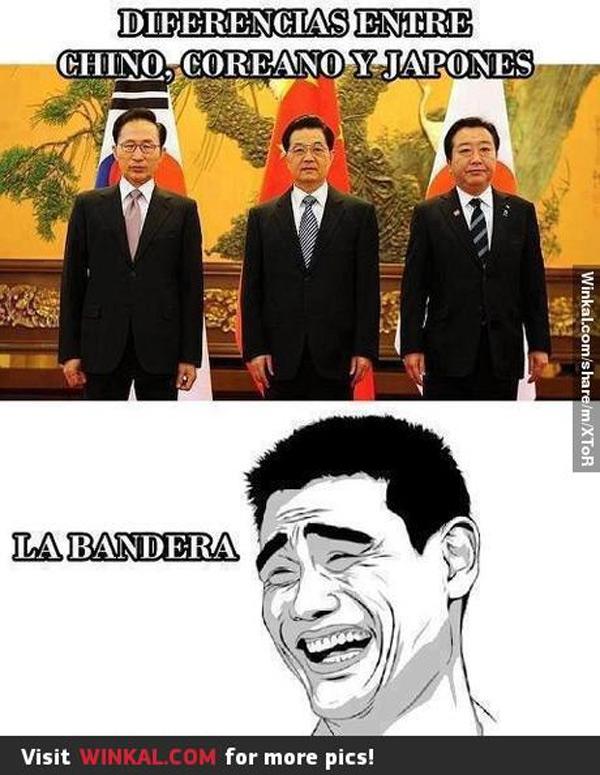 Diferencias entre chino, coreano y japonés