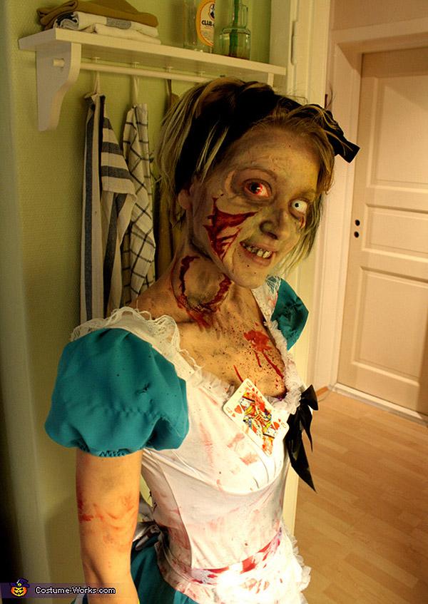 Disfraces de Halloween: Alicia en Zombieland