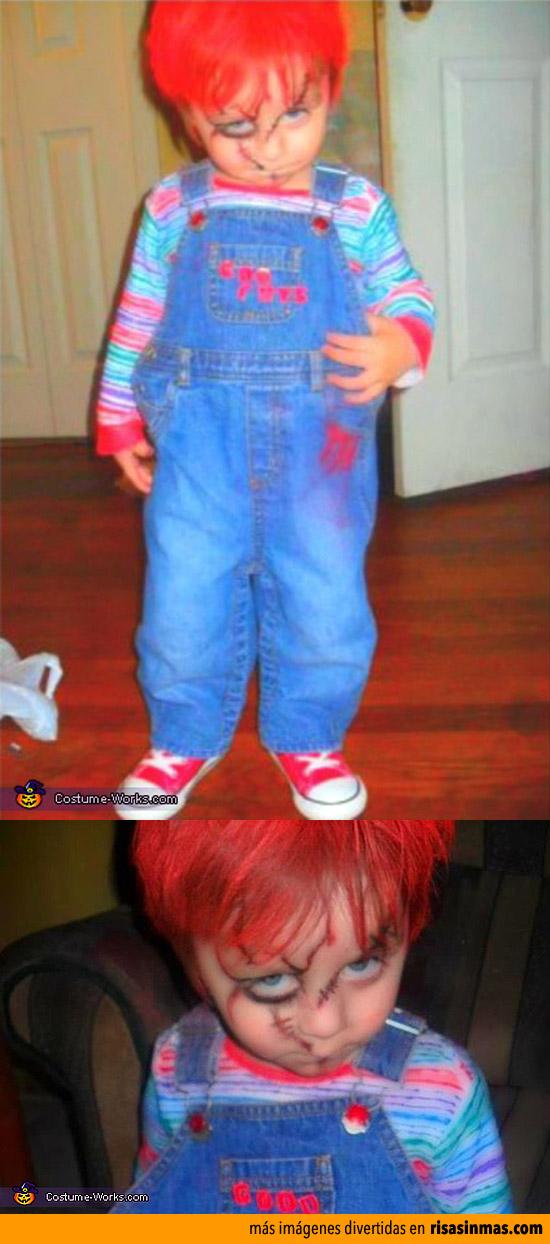 Disfraces de Halloween: Chucky