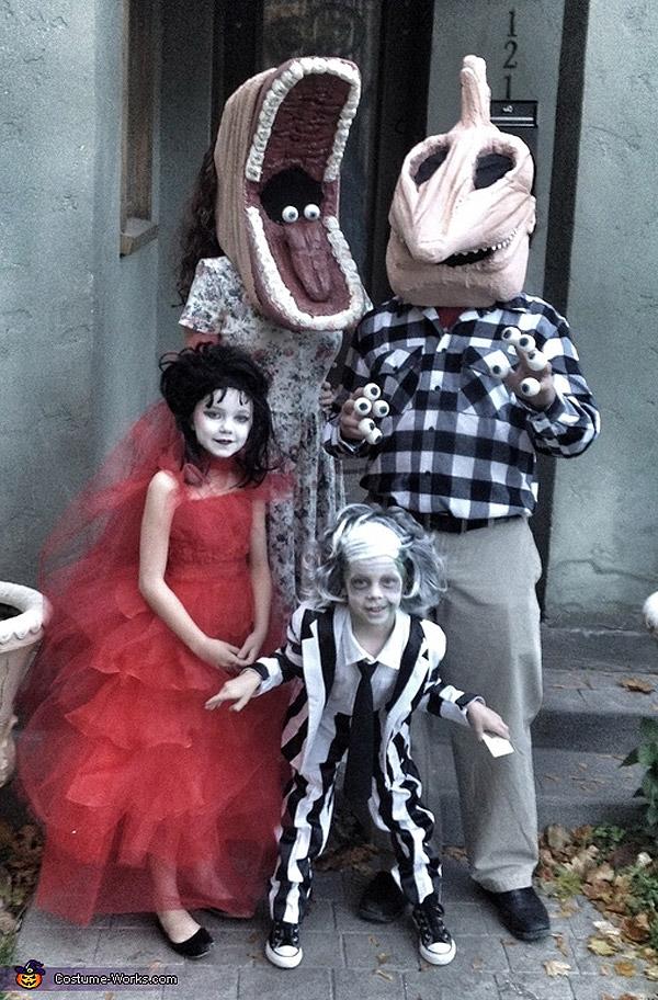 Disfraces de Halloween: Familia Bitelchús