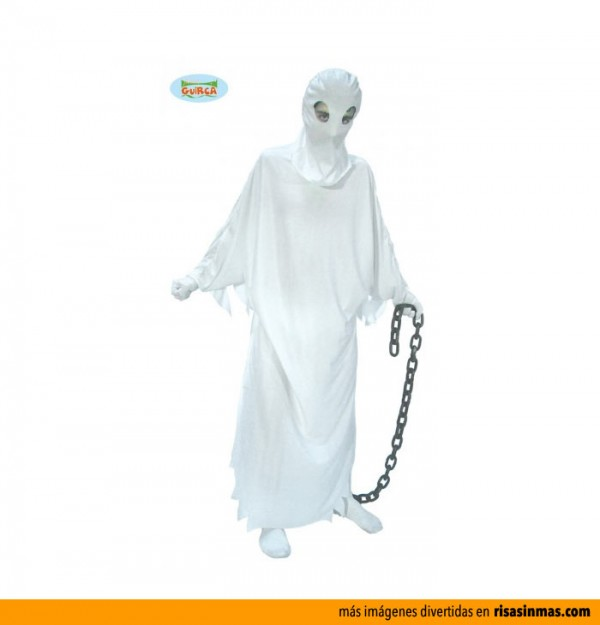 Disfraces de Halloween: Fantasma