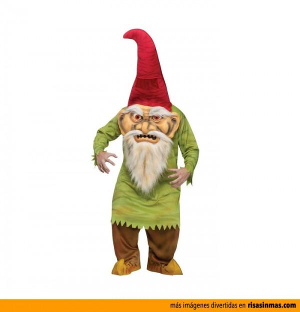 Disfraces de Halloween: Gnomo terrorífico