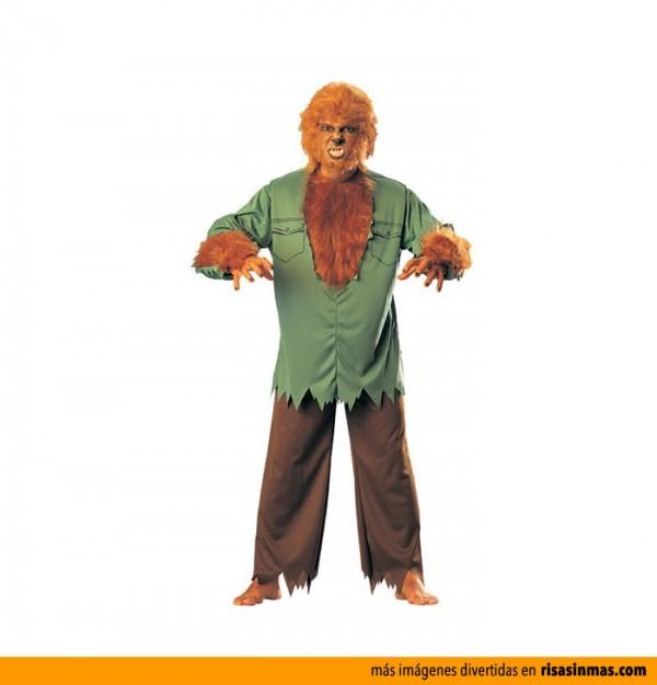 Disfraces de Halloween: Hombre lobo