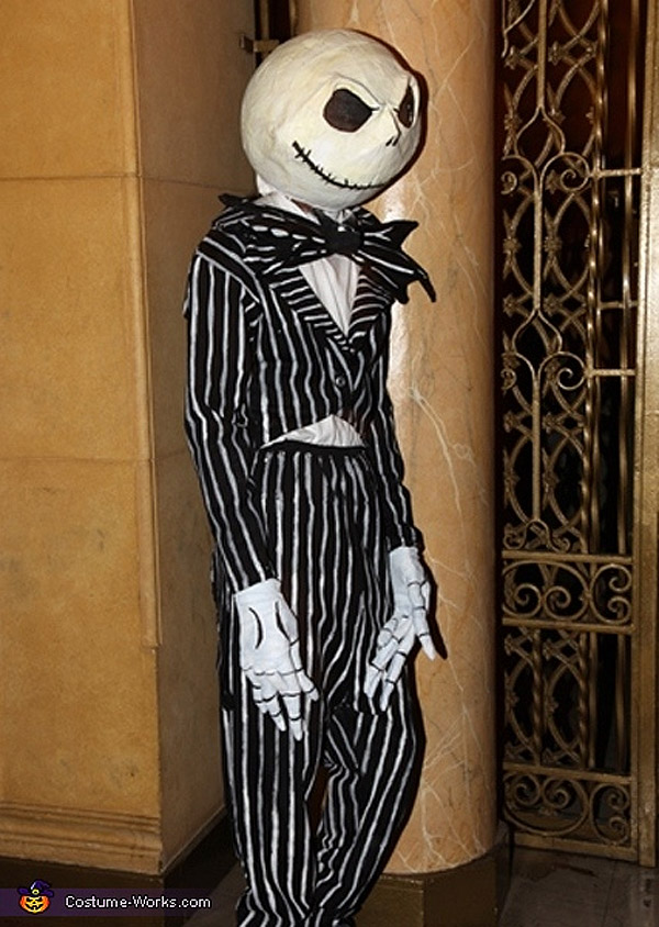 Disfraces de Halloween: Jack Skellington