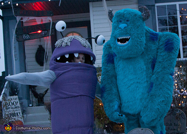 Disfraces de Sulley y Boo