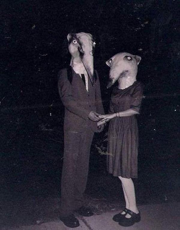 Disfraces de antes en halloween
