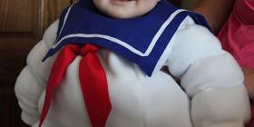 Disfraces de bebés: El Hombre de Malvavisco