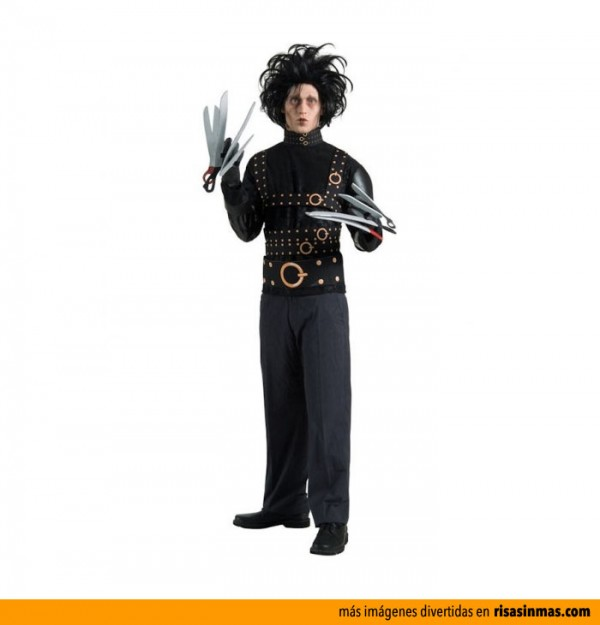 Disfraces de Halloween: Eduardo Manostijeras