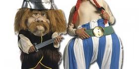 Disfraces horrorosos: Astérix y Obélix