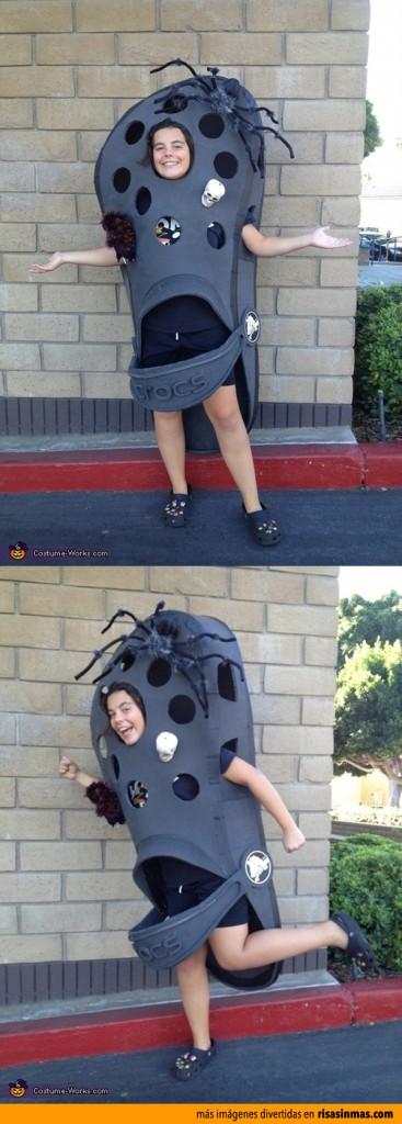 Disfraces originales crocs para halloween - Disfraces carnaval original ...