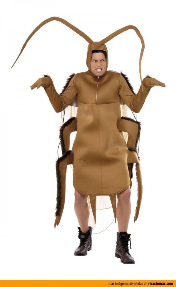 Disfraces originales: Cucaracha