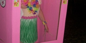 Disfraz de Barbie Hawaiana